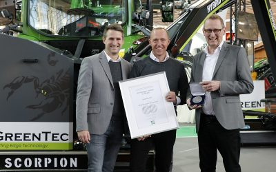 Agritechnica silver medal for Greentec Scorpion mower