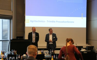 National and international press conferences at Agritechnica 2019