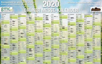 Green Trade Fair Calendar 2020